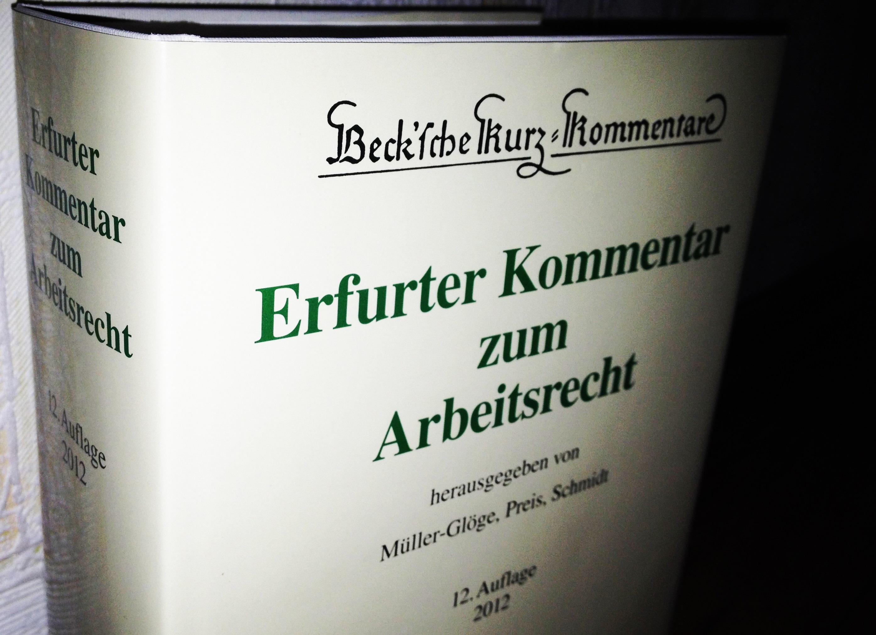 Erfurter-Kommentar-Arbeitsrecht